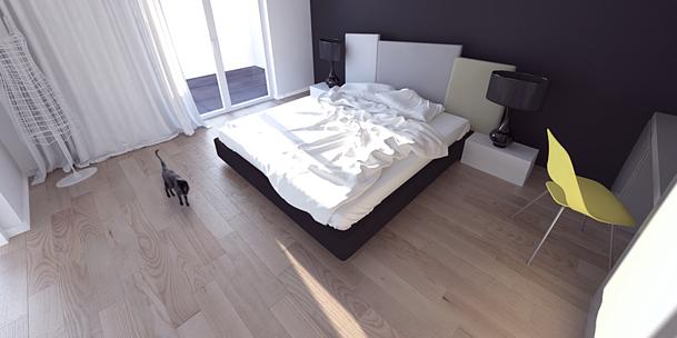 Projekt sypialni Rzeszów