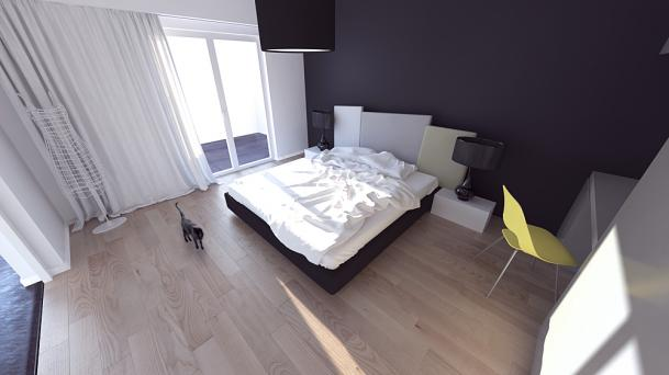 zdjęcie - Projekt sypialni Rzeszów  2011