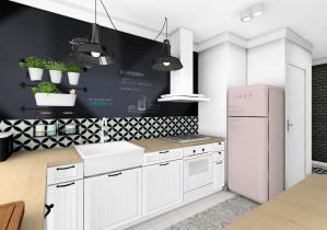 prace Architektów Leste - Projekt mieszkania w stylu skandynawskim Stalowa Wola 2016