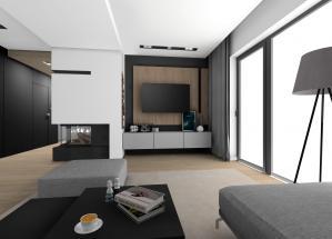 prace Architektów Leste - Projekt domu jednorodzinnego Jastkowice 2018