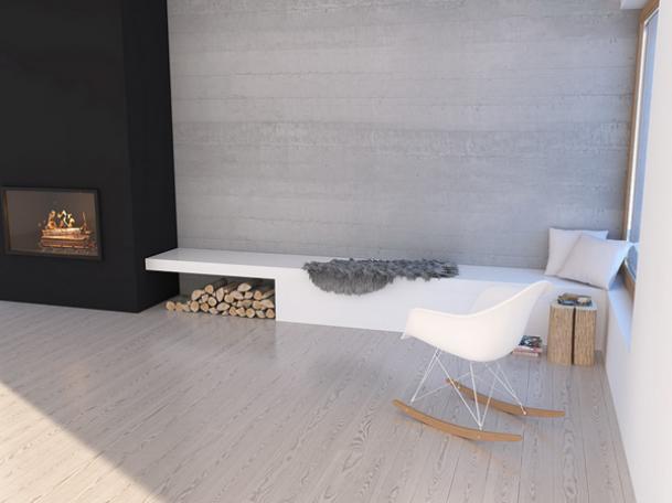 Projekt salonu w domku letniskowym Krynica zdjęcie nr 14